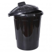 black-dustbin-with-lid